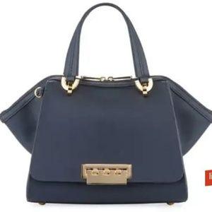 ZAC Zac Posen Eartha Small Leather Top Handle Bag